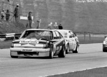 "ROVER SD1 Dennis Leech Brands Hatch BTCC 1987 10x7"" photo (B)"